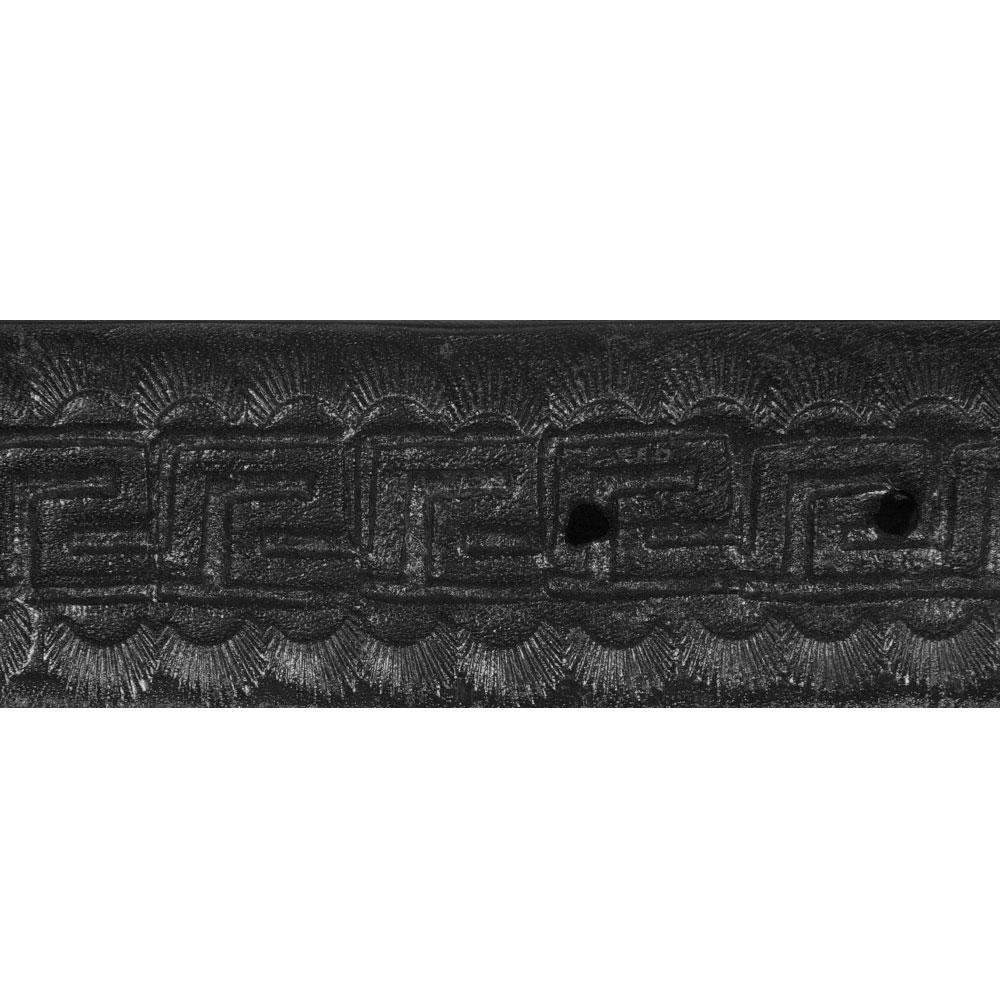 Black Greca Detail