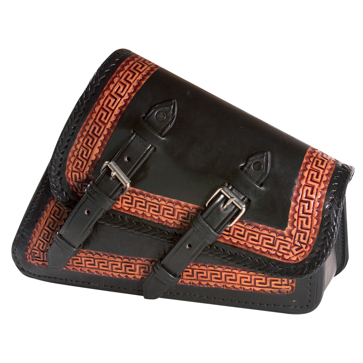 Viclista Leather Swing Arm Bag by RAA Leather